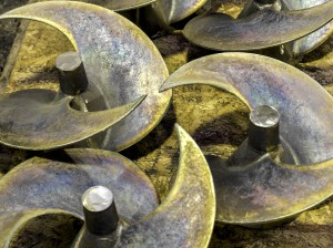 Bronze Impellers made by South Lincs Foundry