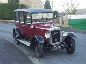 Martins Austin 20 Back on the road again